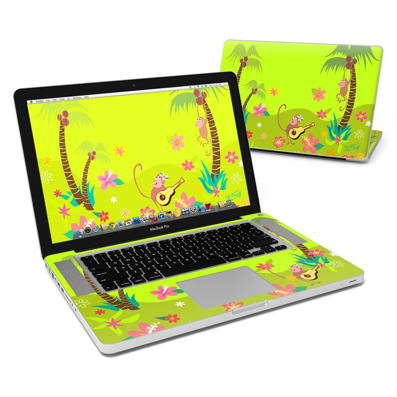 Monkey Melody MacBook Pro 15-inch Skin