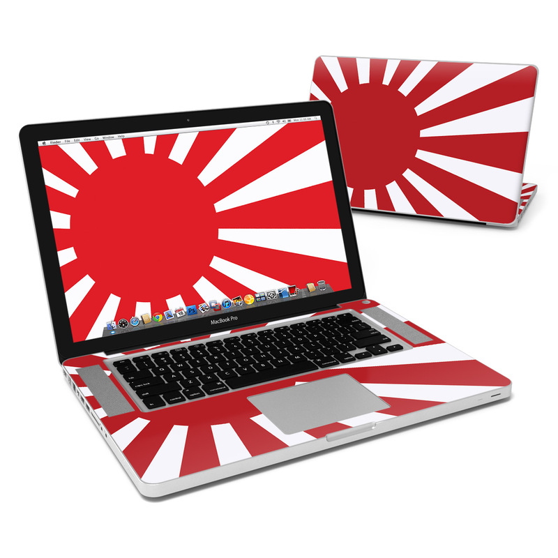 MacBook Pro Pre 2012 15-inch Skin design of Red, Line, Flag, Pattern, Graphic design, Graphics, Clip art with red, white, gray colors