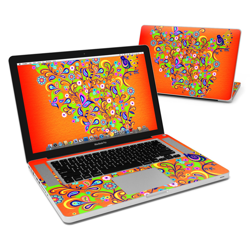 Orange Squirt MacBook Pro 15-inch Skin