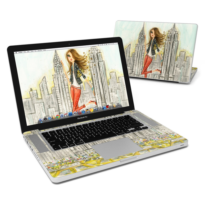 The Sights New York MacBook Pro 15-inch Skin