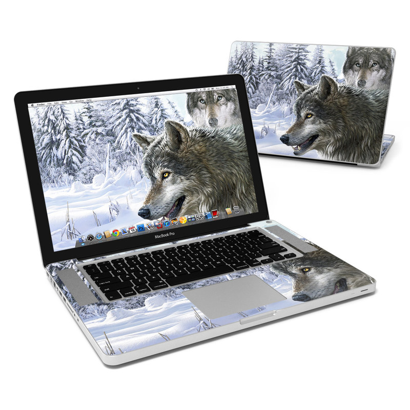 Snow Wolves MacBook Pro 15-inch Skin