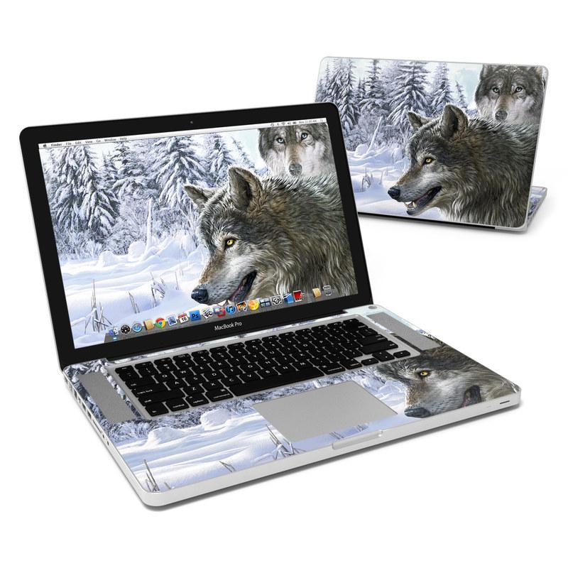 Snow Wolves MacBook Pro 15-inch Skin
