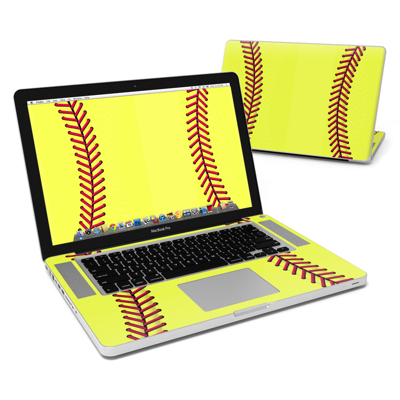 Softball MacBook Pro 15-inch Skin
