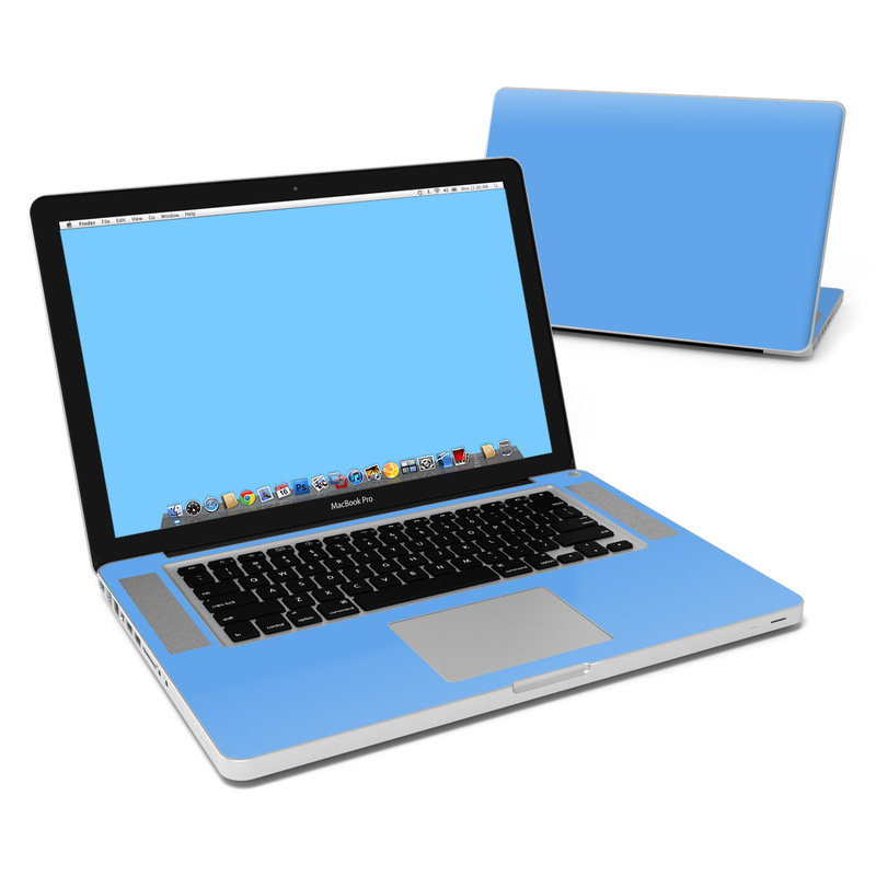 Solid State Blue MacBook Pro 15-inch Skin