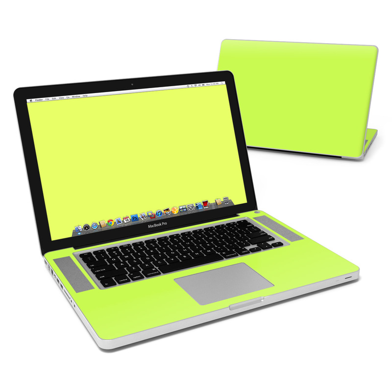 Solid State Lime MacBook Pro 15-inch Skin