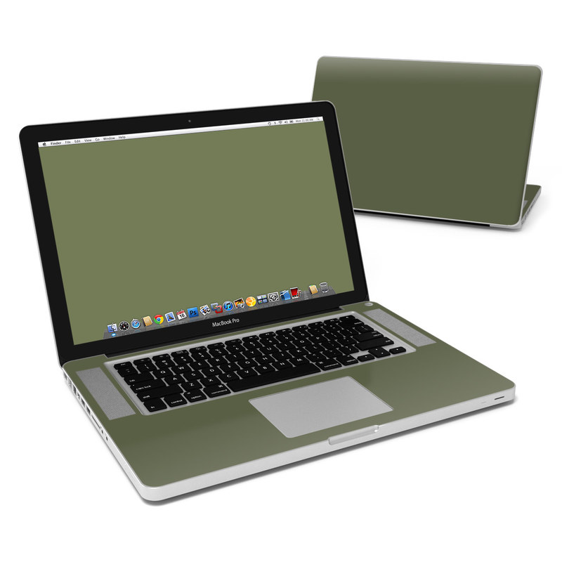 Solid State Olive Drab MacBook Pro 15-inch Skin