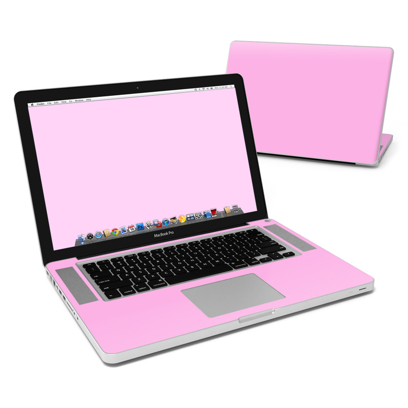 MacBook Pro Pre 2012 15-inch Skin design of Pink, Violet, Purple, Red, Magenta, Lilac, Sky, Material property, Peach with pink colors