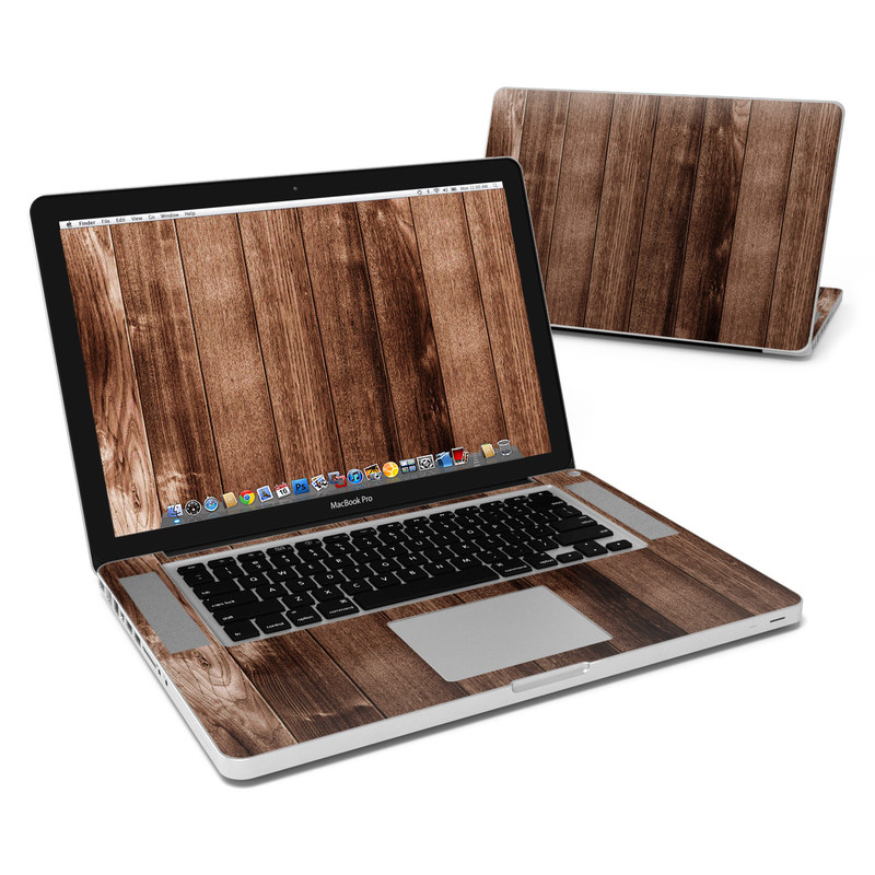 Stained Wood MacBook Pro Pre 2012 15-inch Skin