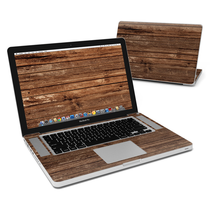 Stripped Wood MacBook Pro Pre 2012 15-inch Skin