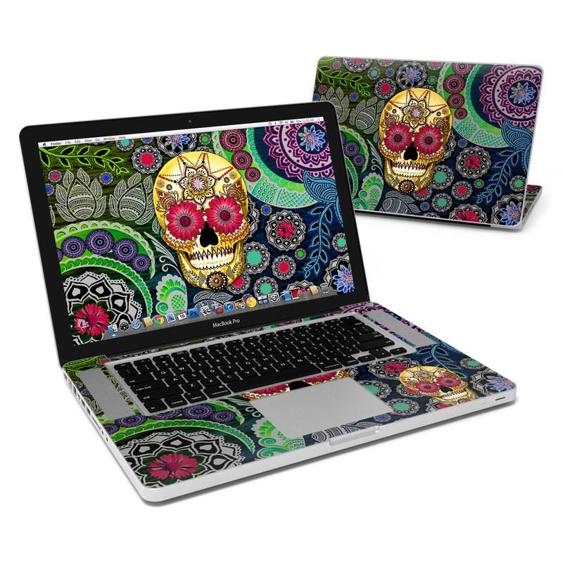 Sugar Skull Paisley MacBook Pro 15-inch Skin