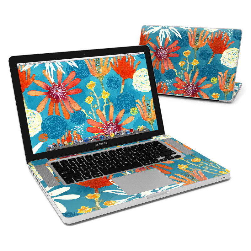 Sunbaked Blooms MacBook Pro 15-inch Skin