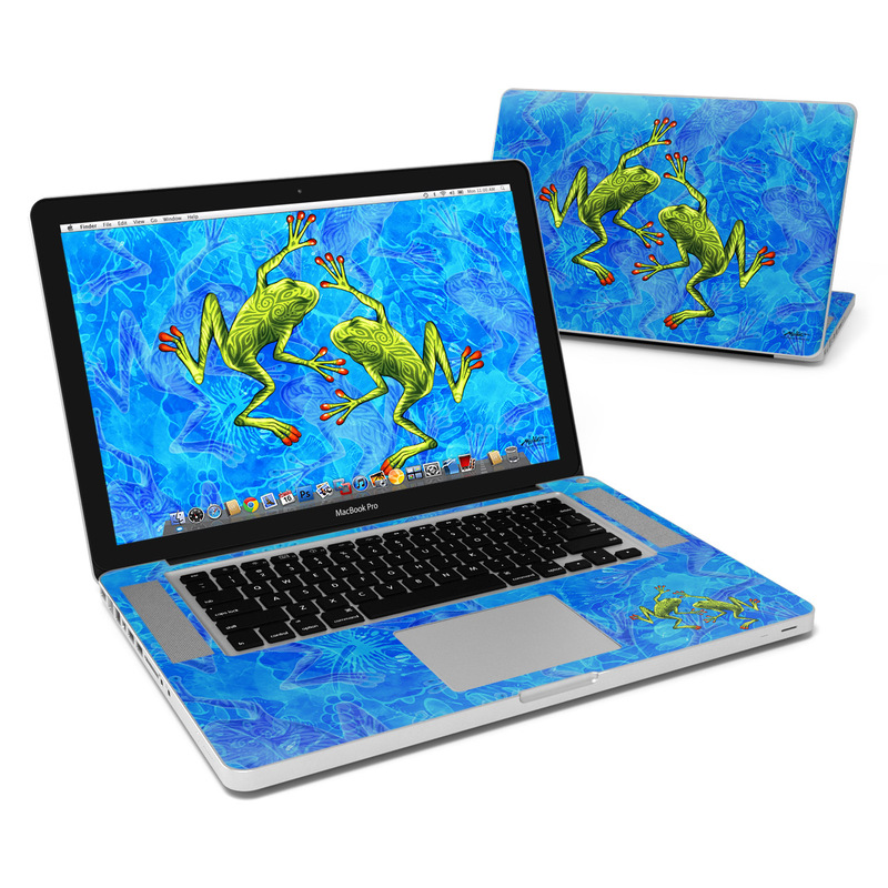 Tiger Frogs MacBook Pro 15-inch Skin