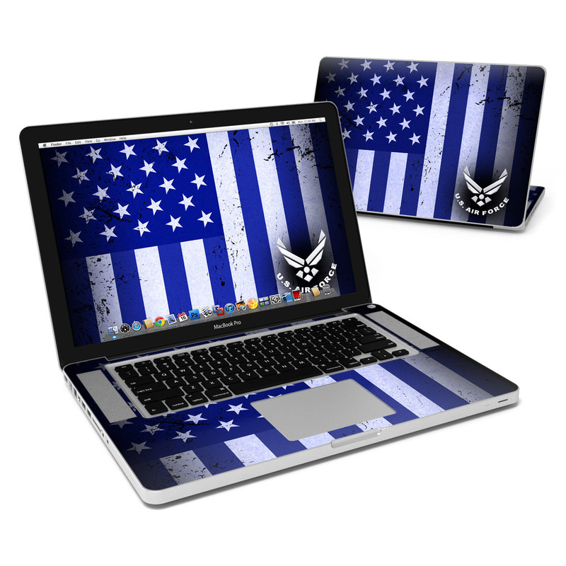USAF Flag MacBook Pro 15-inch Skin
