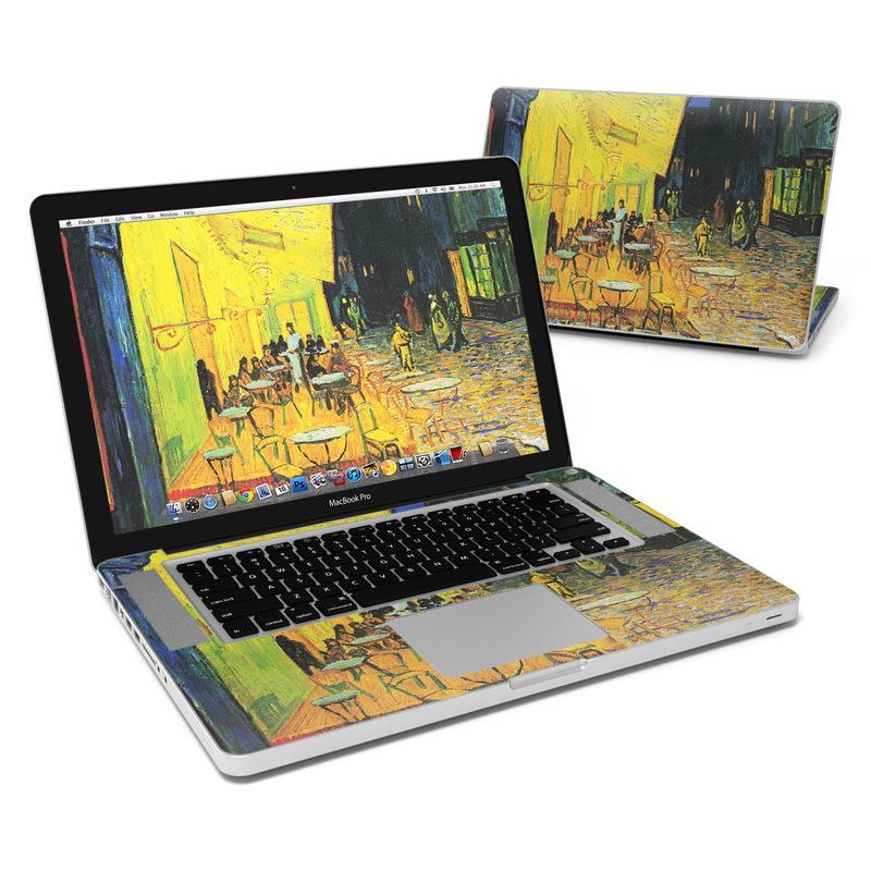 Cafe Terrace At Night MacBook Pro 15-inch Skin