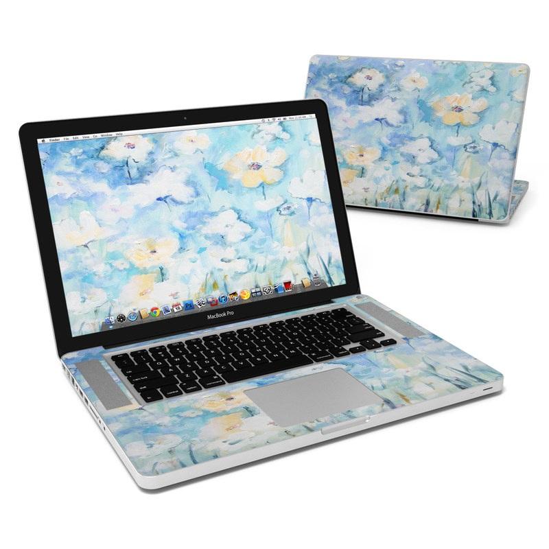 White & Blue MacBook Pro 15-inch Skin