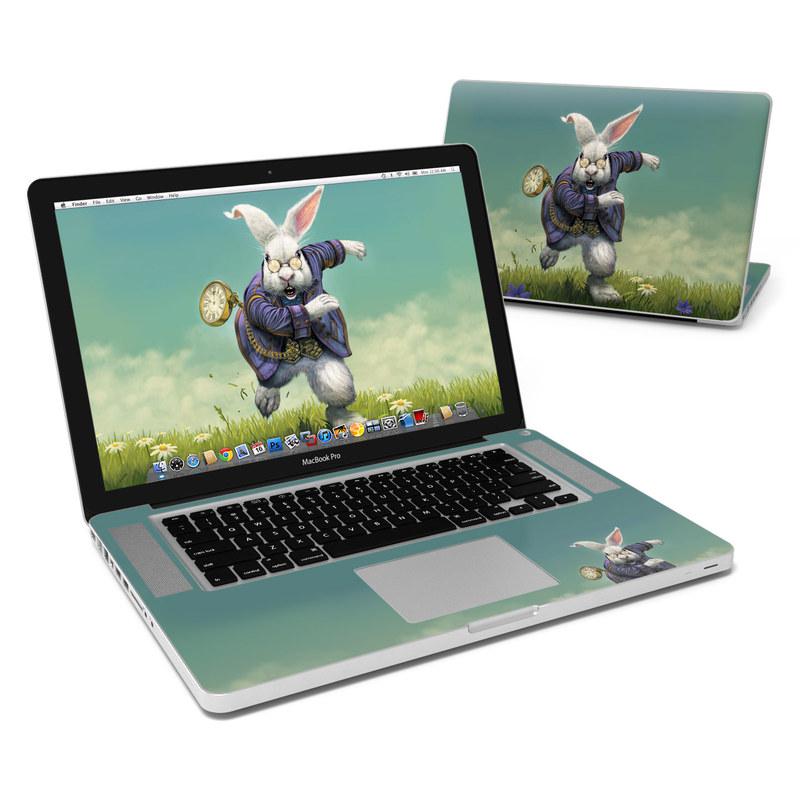 White Rabbit MacBook Pro 15-inch Skin