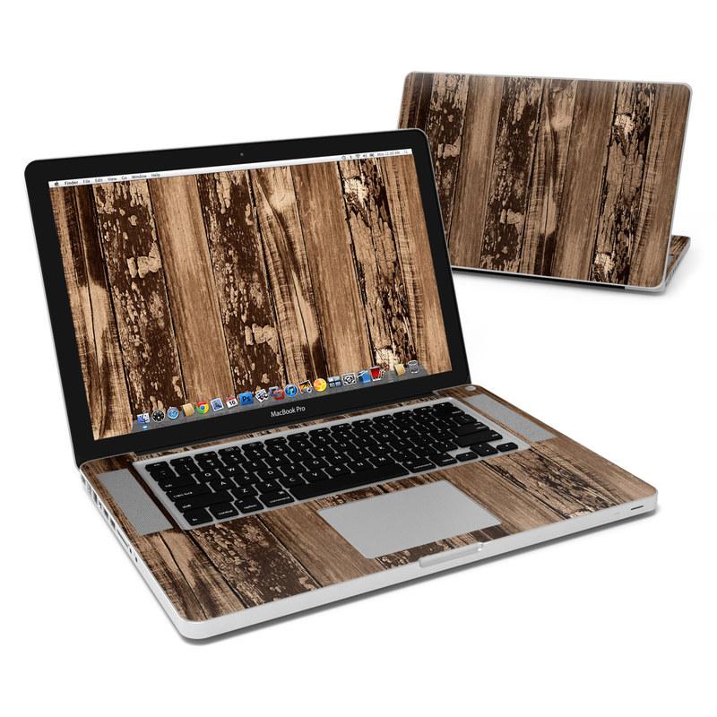 Weathered Wood MacBook Pro 15-inch Skin