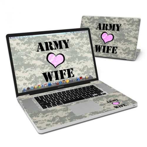 Army Wife MacBook Pro 17-inch Skin