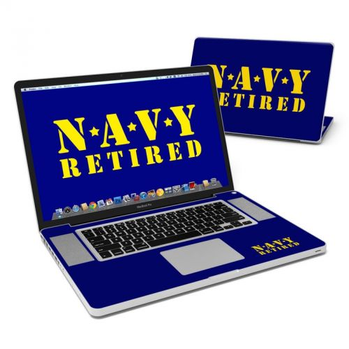 Navy Retired MacBook Pro Pre 2012 17-inch Skin