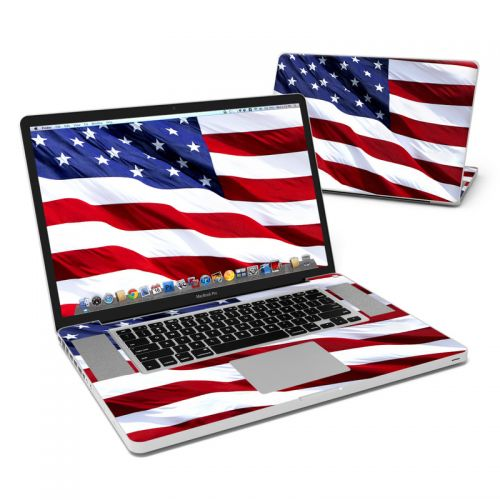 Patriotic MacBook Pro Pre 2012 17-inch Skin