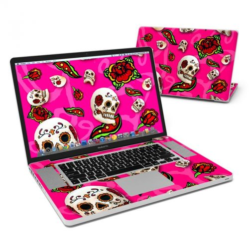 Pink Scatter MacBook Pro 17-inch Skin