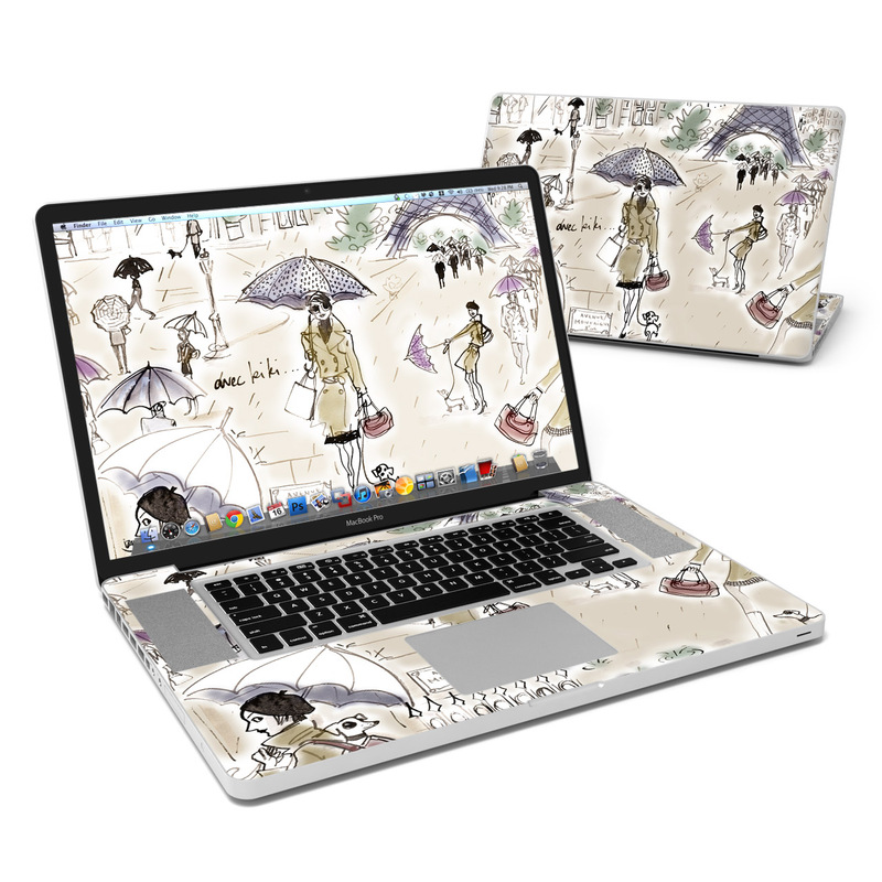Ah Paris MacBook Pro 17-inch Skin
