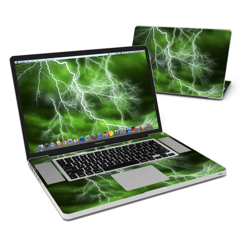 Apocalypse Green MacBook Pro 17-inch Skin