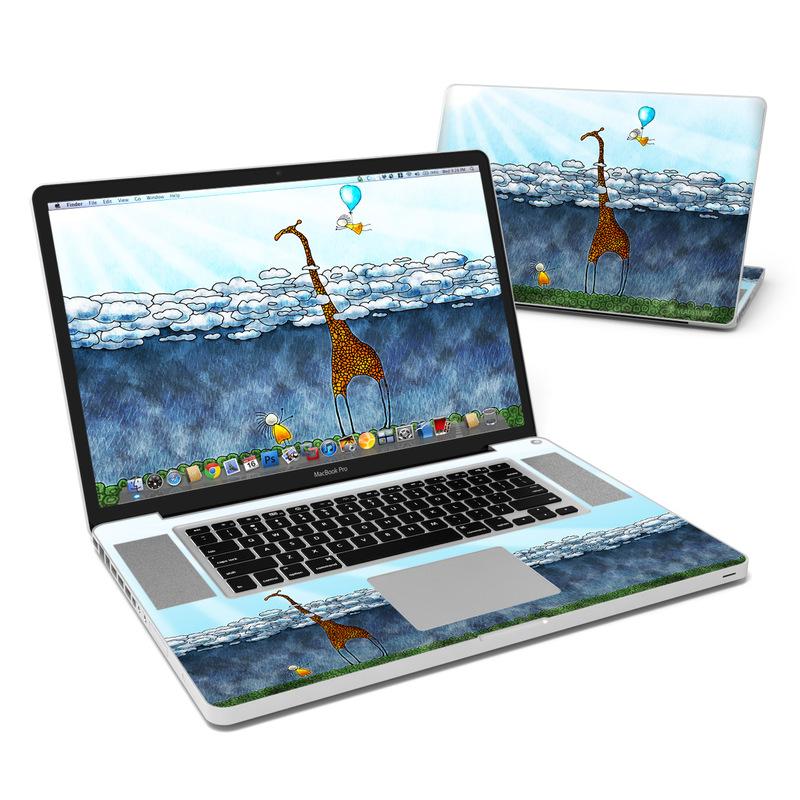 Above The Clouds MacBook Pro 17-inch Skin
