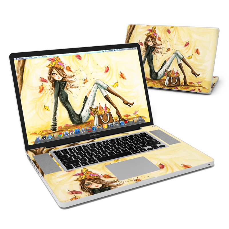 Autumn Leaves MacBook Pro 17-inch Skin