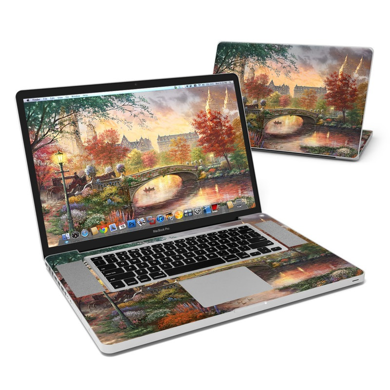 Autumn in New York MacBook Pro Pre 2012 17-inch Skin