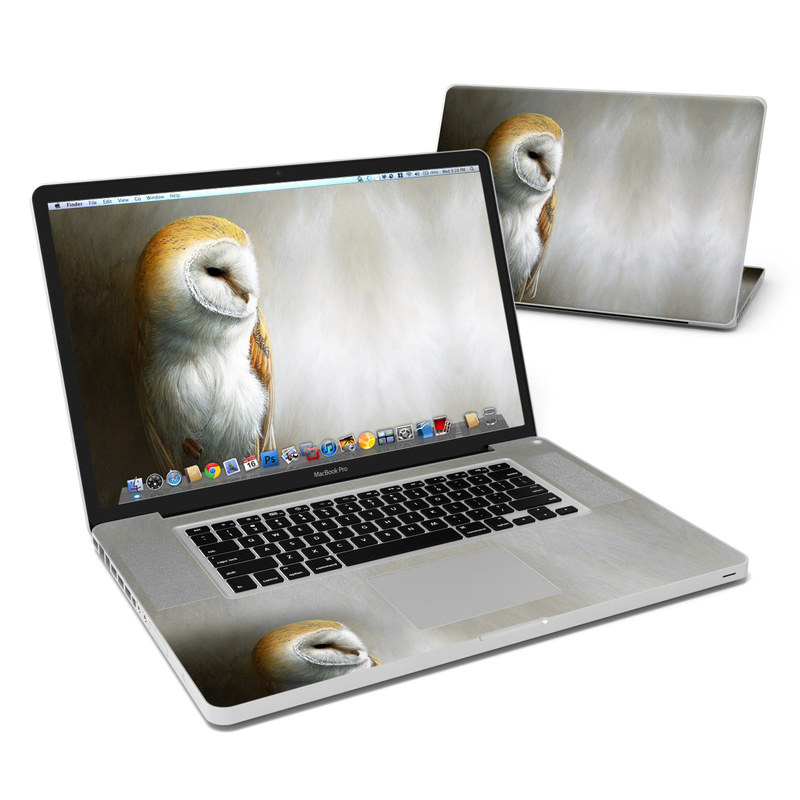Barn Owl MacBook Pro 17-inch Skin