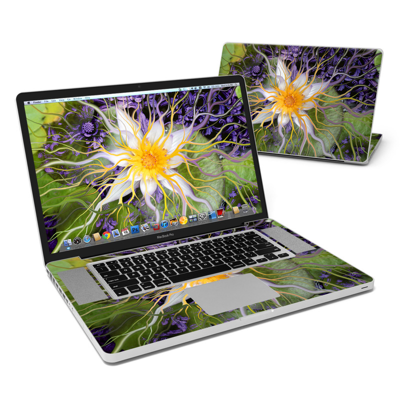 Bali Dream Flower MacBook Pro 17-inch Skin