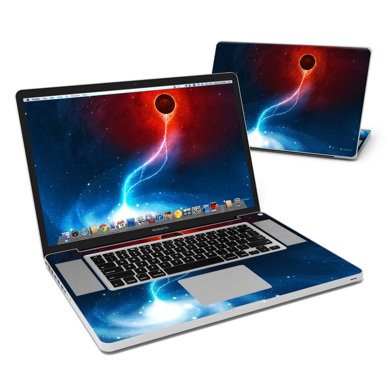 Black Hole MacBook Pro 17-inch Skin