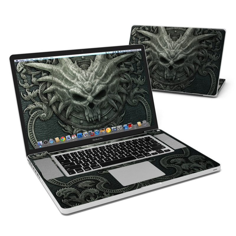 Black Book MacBook Pro 17-inch Skin