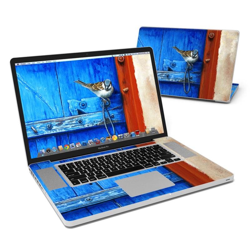 Blue Door MacBook Pro Pre 2012 17-inch Skin