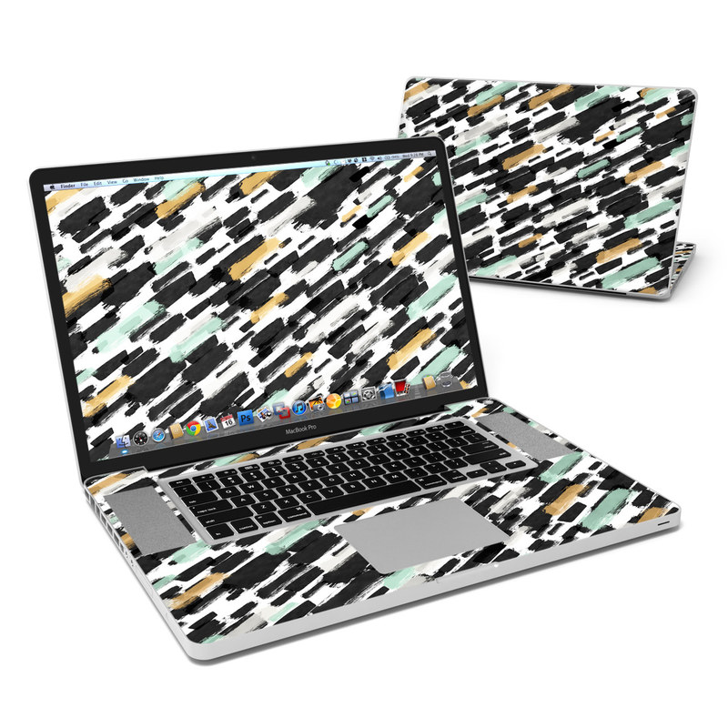 Brushin Up MacBook Pro 17-inch Skin