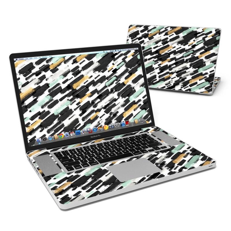 Brushin Up MacBook Pro 17-inch Skin