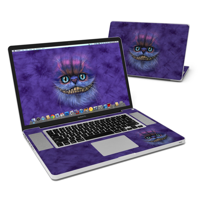 Cheshire Grin MacBook Pro 17-inch Skin