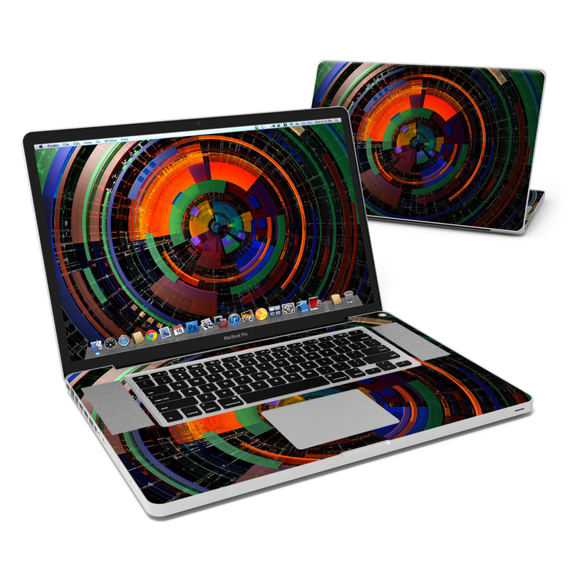 Color Wheel MacBook Pro 17-inch Skin
