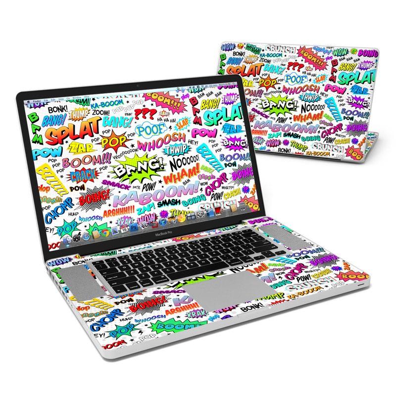 Comics MacBook Pro 17-inch Skin