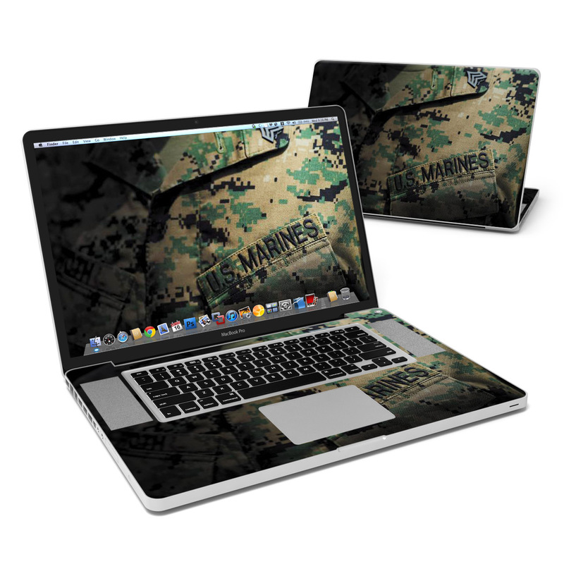 Courage MacBook Pro Pre 2012 17-inch Skin
