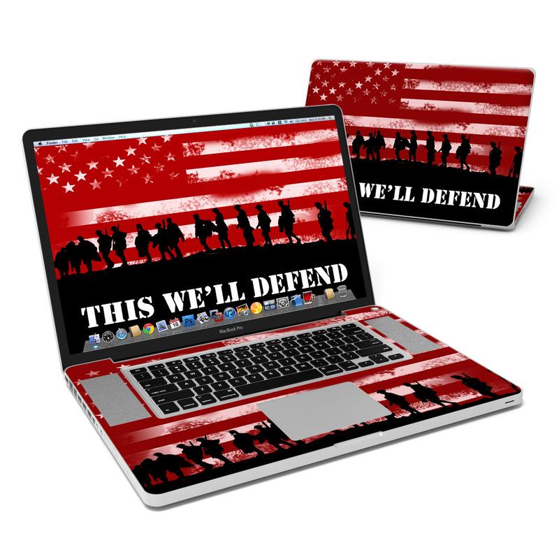 Defend  MacBook Pro 17-inch Skin