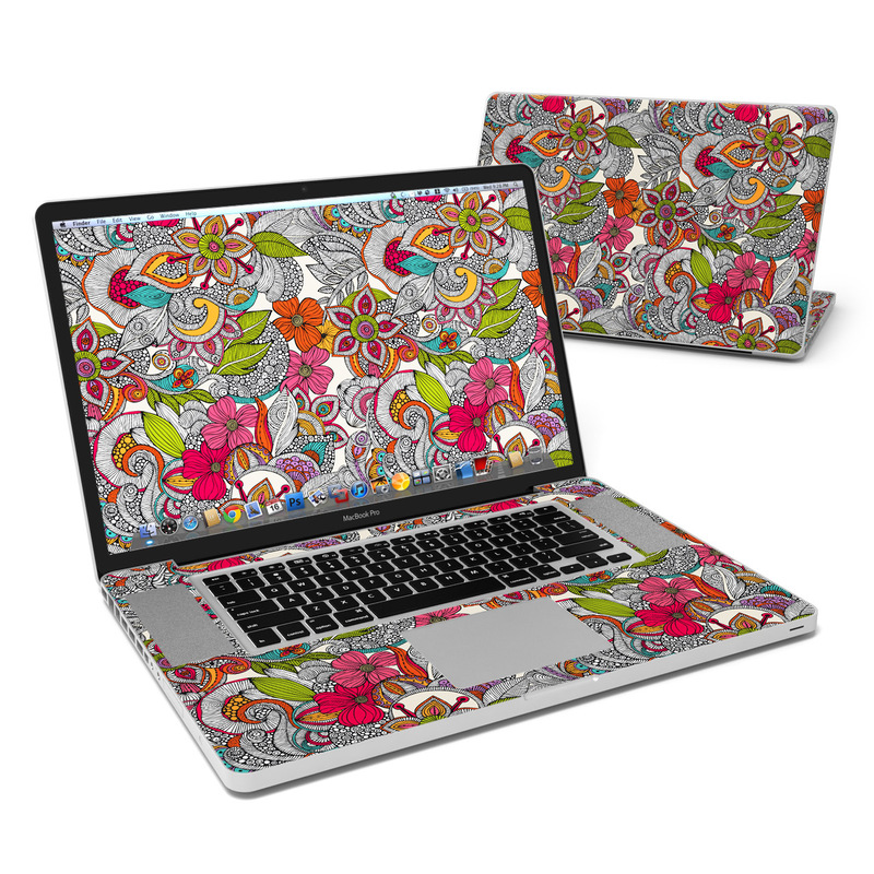 Doodles Color MacBook Pro 17-inch Skin