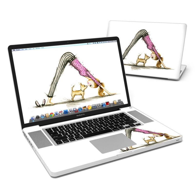 Downward Dog MacBook Pro Pre 2012 17-inch Skin