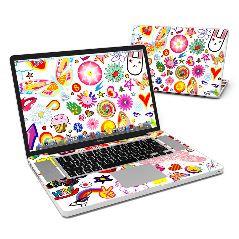 Eye Candy MacBook Pro 17-inch Skin