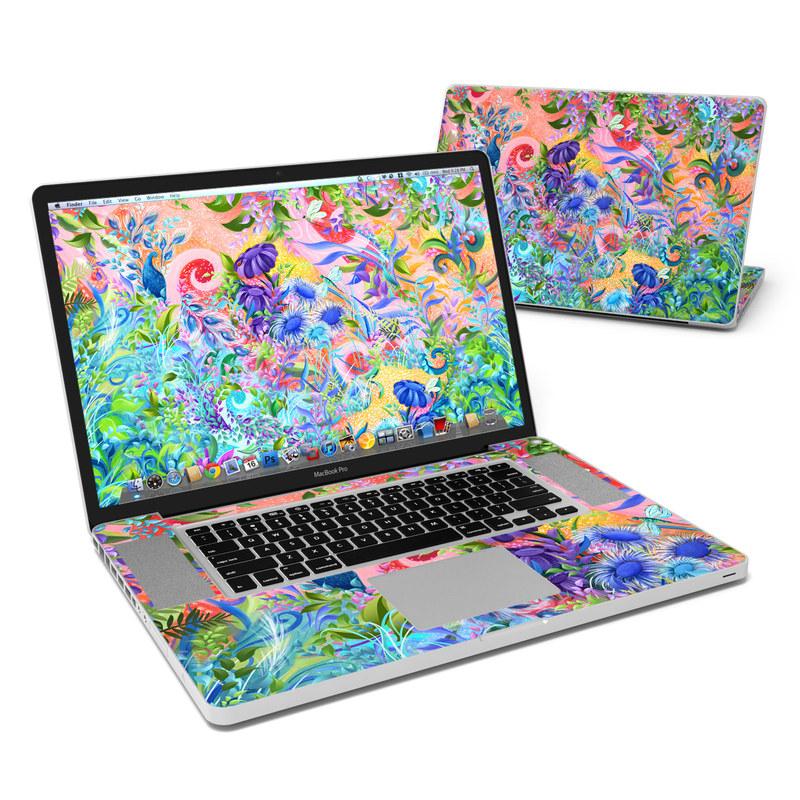 Fantasy Garden MacBook Pro 17-inch Skin