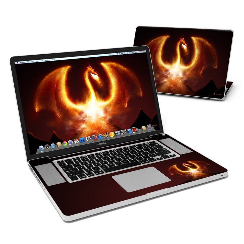 Fire Dragon MacBook Pro Pre 2012 17-inch Skin
