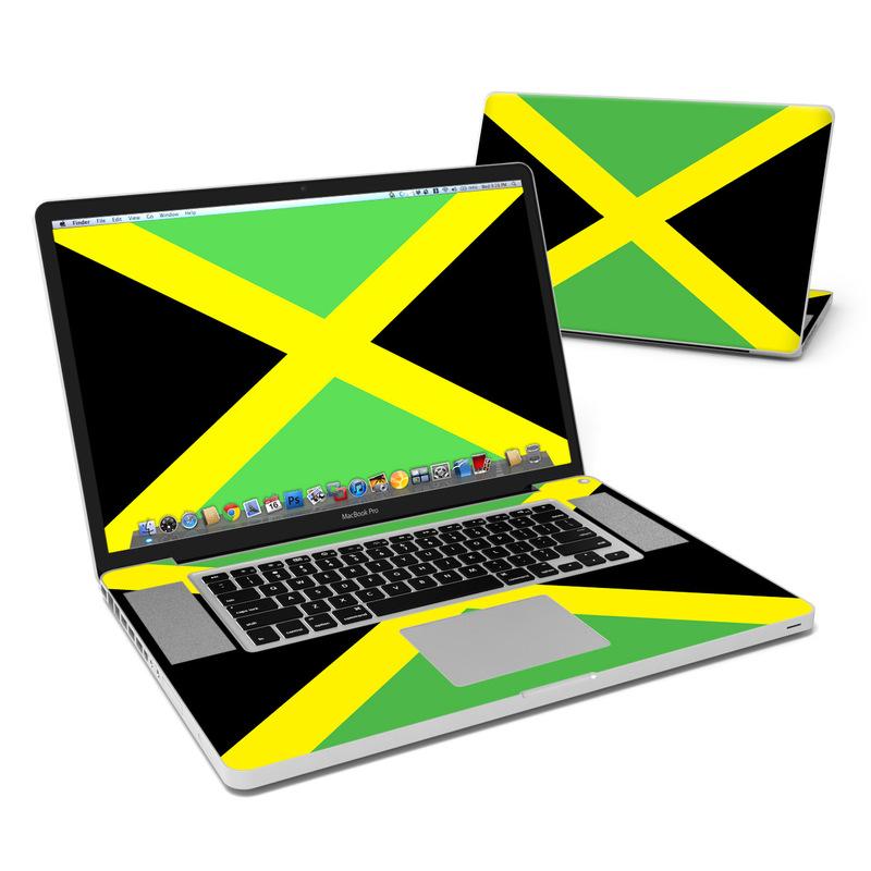 Jamaican Flag MacBook Pro 17-inch Skin