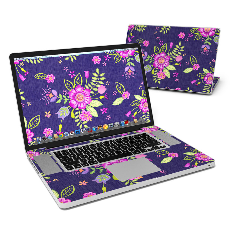 Folk Floral MacBook Pro 17-inch Skin
