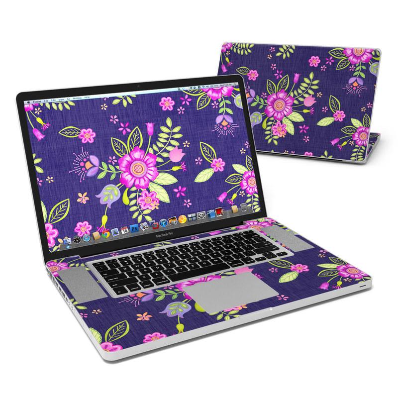 Folk Floral MacBook Pro 17-inch Skin